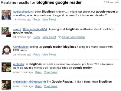 search results for bloglines
